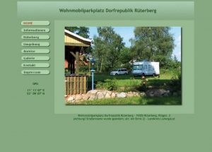 Wohnmobilparkplatz Rüterberg